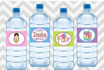 Water Bottle Wrappers