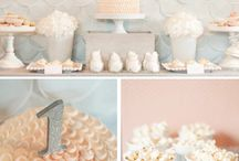 Party {in Gray & Silver} / Silver and gray party ideas and inspiration. Curated by Kim Byers For more ideas http://blog.thecelebrationshoppe.com / by Kim {The Celebration Shoppe}
