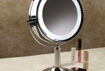 Ideas for lighted bathroom mirrors