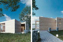 Projekty domków saunowych / Projekt Saun dla GrupaSeven