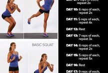 Exercise board / Workouts