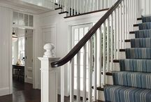 Stair remodeling and carpet / Stair remodeling and carpet