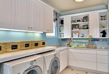 Laundry room  / My new home  / by Sharon Bezdek