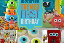 1st birthday: monsters