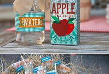 Farm birthday party inspiration / Ideas 3rd birthday party