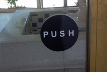 Push & Pull Signs / Push pull door pulls In and Out. You have a door that is unclear whether its push or pull then this is your solution.