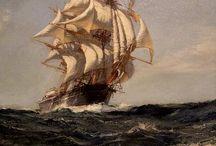 Montague Dawson - artist