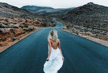 Desert Princess / Golden hour, a road trip to nowhere.