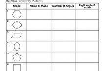 Geometry Worksheets / #geometry #math