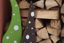 Holz deco