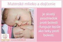Fakty / Dojčenie a fakty