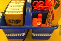 Classroom Organization Ideas / by Stephanie Lemons