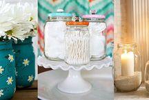 Διακόσμηση και οργάνωση με γυάλινα βάζα / «Ξεθάψτε» τα γυάλινα βάζα που φυλάτε στην κουζίνα σας: Μπορείτε να τα εκμεταλλευτείτε με τους πιο έξυπνους και πρωτότυπους τρόπους σε όλο το σπίτι!