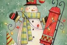 illustrazioni natalizie