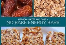vegan oil free energy bars
