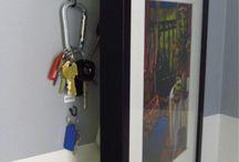 Ways to hang keys