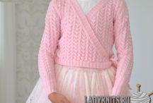 детское вязание.
