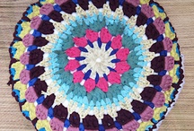 Colorful Moroccan Mandala Cushions / cannot believe all the amazing colors