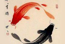Estampes japonaises poissons