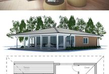 Love these cool house plans! / by Cary Martin Sullivan
