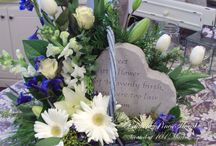 Memorial Floral Designs / It's our hope that our memorial designs bring smiles and memories to all those who remember that individual.