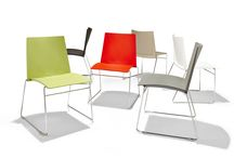 Bolt Chairs by Identity Furniture / A modern approach to the conference chair, Bolt is the perfect example of a seating style that is often overlooked as a commodity rather than a design statement.
