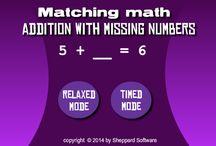 School: Math Games