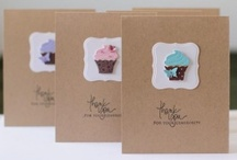 Card Ideas - Stampin Up Punches & Dies
