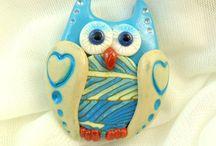 Crumpled Fantazies Owls
