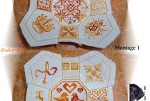 Embroidery: Quaker
