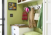 Mudrooms / I am obsessed with one day having a mudroom.