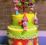 Poppy Trolls Cakes