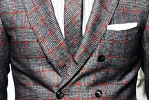 Suits, cloths and accesories for gentlemen / Clothes, watches, suits, bags, shirts,