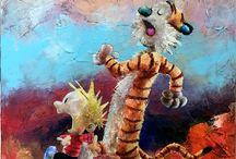 Calvin & Hobbes / Steen & Stoffer