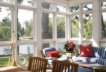 Home: Beach Cottage - Porches & Outdoor Spaces / by Nan Edwards