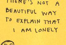 Å være alene