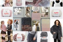 Fur Trend / Trend Autumn Winter 2016 / 2017 by Katia. The softness of fur envelops us in an array of relief patterns, soft textures, wintery designs and subtle colours. The world of fashion has rescued fur (Faux Fur or Fun Fur), plush effects and seventies style.