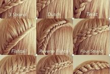 Fryzurki ^_^ / I love intresting hair styles! I have long hair, so I like have different hair style everyday! <3
