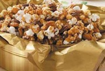 Popcorn, Snacks and Party Foods. / by Dorie Hughes