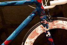 Vintage and Art bikes
