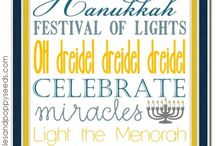 Hanukkah Ideas, Recipes, and Crafts .pp / by Peonies and Poppyseeds