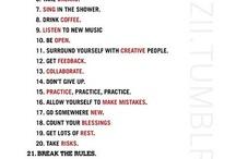 read listen think / by J V