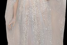 glamorous evening dress