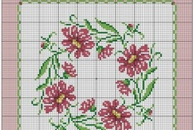 Cross-stitching / borduren