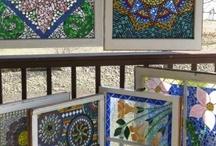 mosaic art.