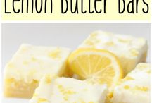 Lemon butter bars