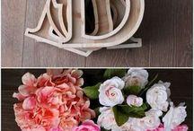 DIY Wood Letters