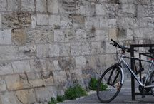 Bikes Around The World / Wherever I travel bikes are commonly seen.  As a primary mode of transportation, recreational activity or sport, cycling weaves its way into every place I see.