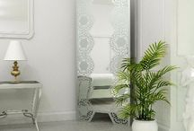 Decorative bedroom mirrors