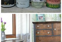 renovating- painting furniture e.t.c.